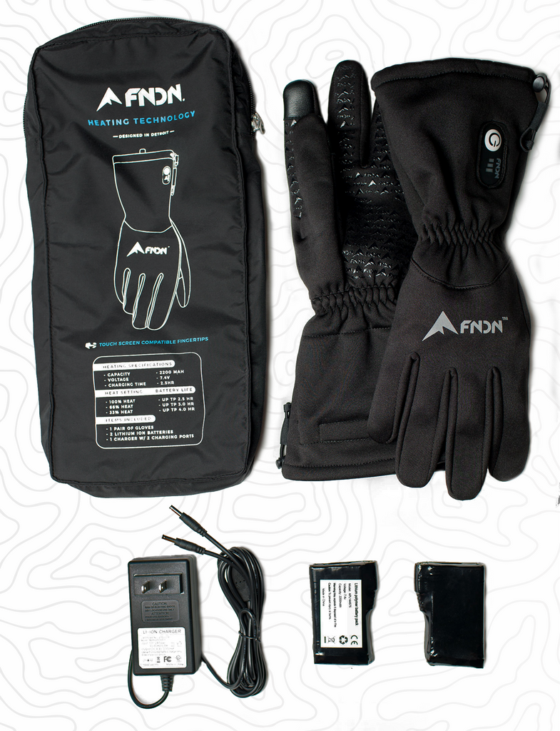 FNDN Heated Gloves - Unisex