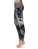 FNDN Custom Leggings - Angles Black w/ Black