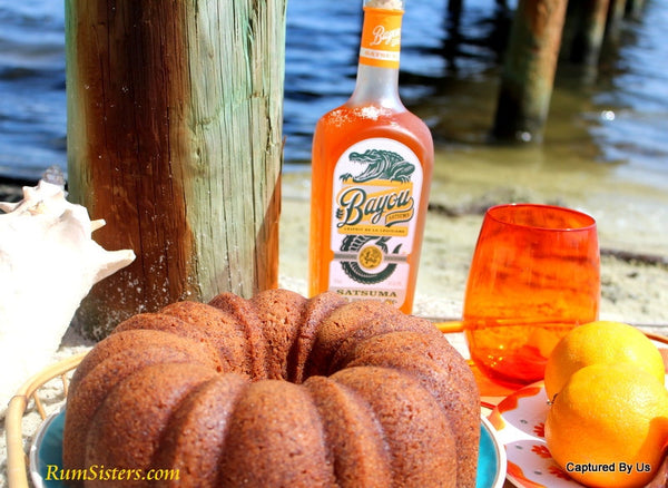 Sunset Swizzle Satsuma Orange Rum Cake