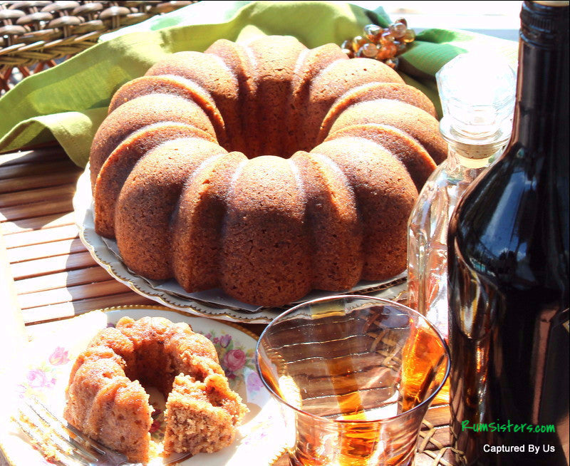 The Big O Irish Cream Rum Cake