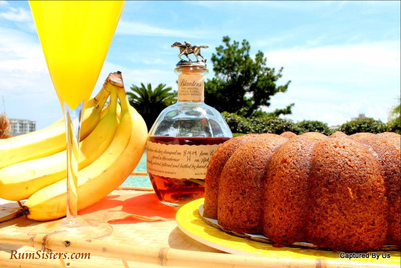 Drunken Monkey Banana Rum Cake