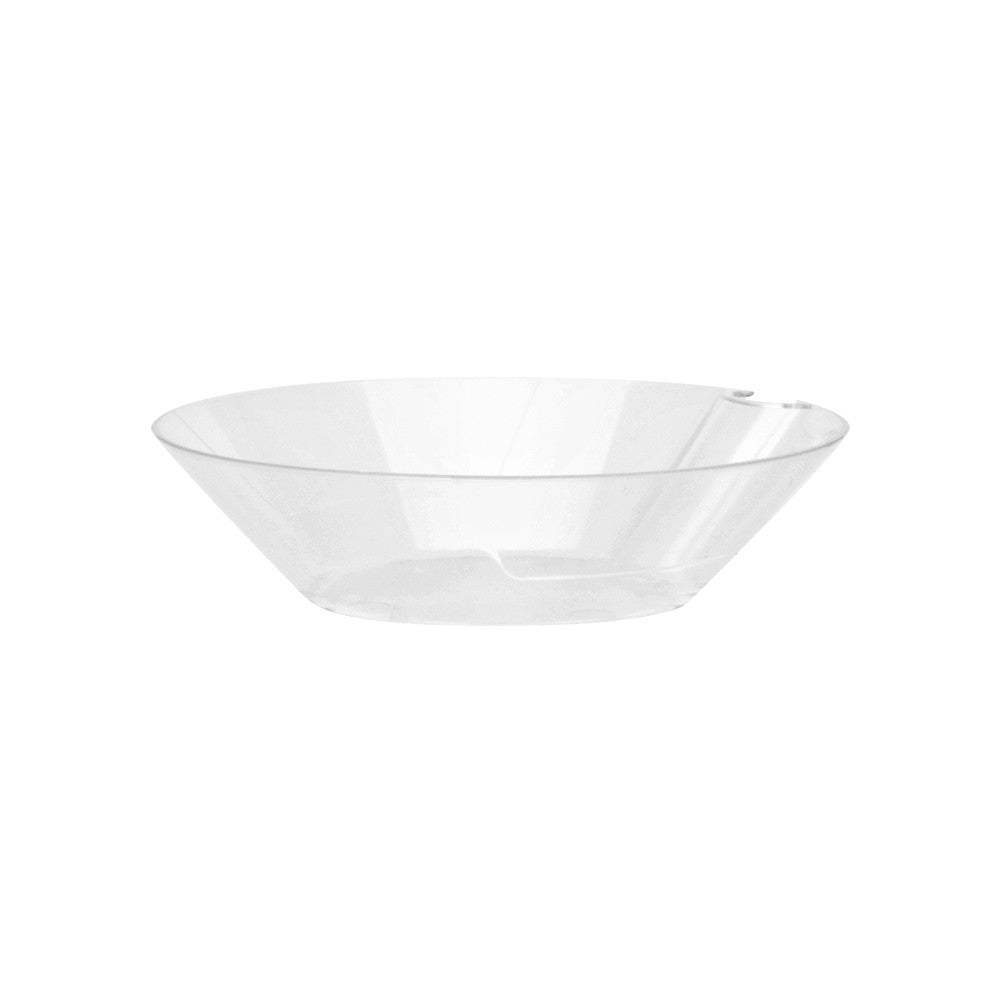 "Bowls with Utensil Hangers - 4"" - 300 Count Box - Due to COVID-19 all orders will be held until late June. Our focus is currently on manufacturing products used to help treat patients with COVID-19.-SelfEco Caterware"