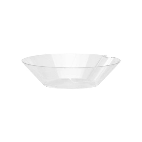 "4 Oz Round Bowls with Utensil Hangers - 4"" - 200 Count Case, PLA-SelfEco Caterware"