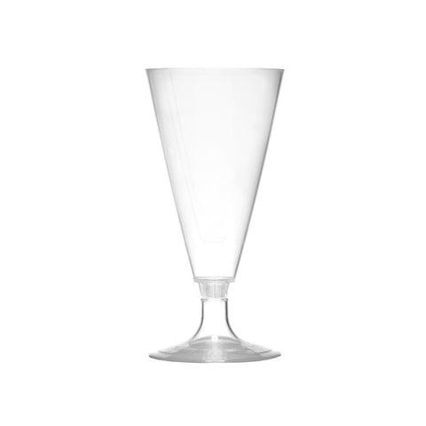 2 Piece 4 Oz Champagne Flutes, PLA - 70 Count Case-SelfEco Caterware