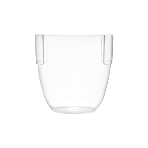 Stemless Wine Glass & Low Ball Tumbler Glass - 9oz. - 36 Count Box-SelfEco Caterware