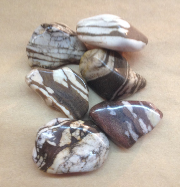 A-Z Blog: Z is for Zebra Stone