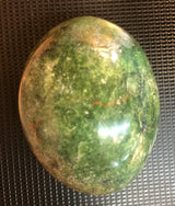 Wonderful Green Opal Palm Stone
