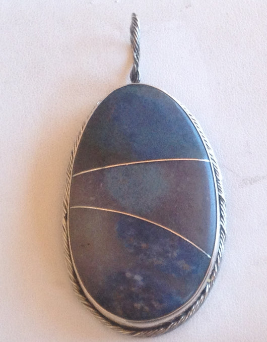 Triallite Pendant - Hand-Crafted by Sedona Artisan