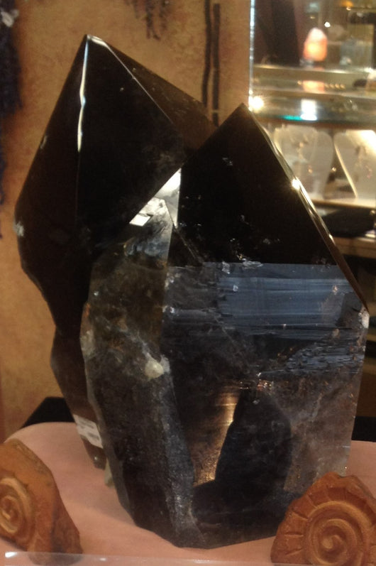 Smokey Quartz Twin from Brazil