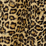 Komfy Couture Weighted Blankets Brown Leopard Medium 24x36 4 lb. Weighted Blanket for Dogs