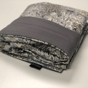 Komfy Couture Weighted Blankets Extra Large Cooling Luxury Weighted Blanket (54x72) - Custom Design- Glass beads