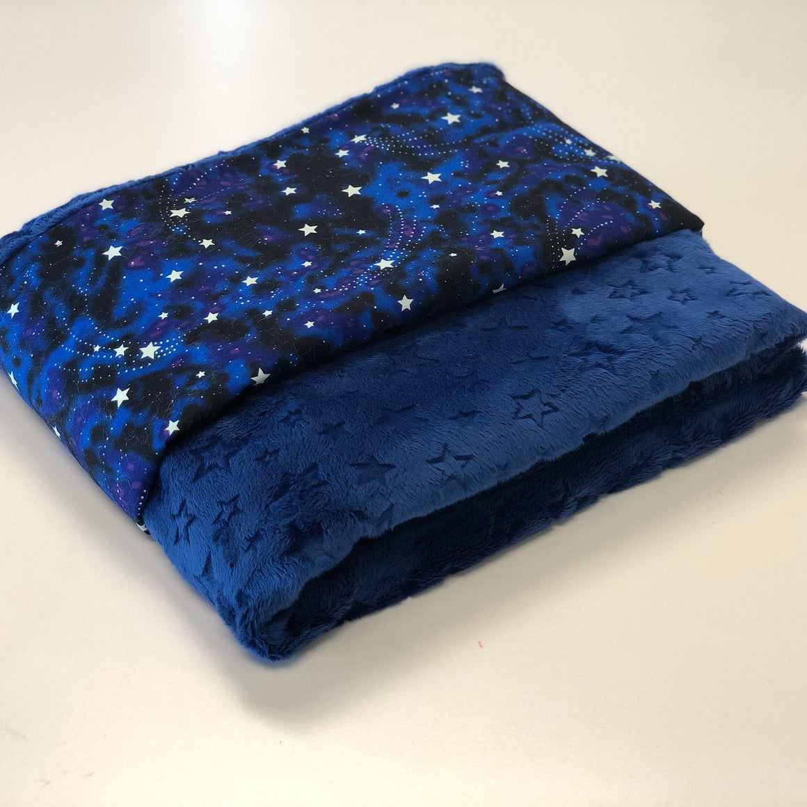 Komfy Couture Weighted Blankets Glow in the Dark Luxury Weighted Blanket - Glass beads