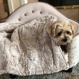 Komfy Couture Weighted Blankets Medium 24x36 4 lb. Weighted Blanket for Dogs