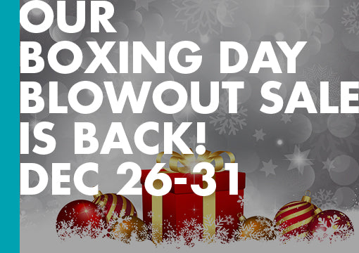 ECW's Boxing Day Sale! Ends Dec 31, 2017