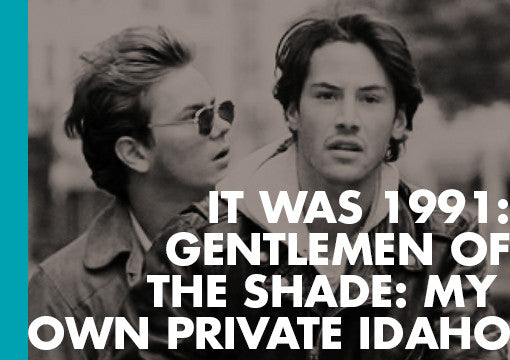 ECW Blog excerpt of Gentlemen of the Shade: My Own Private Idaho