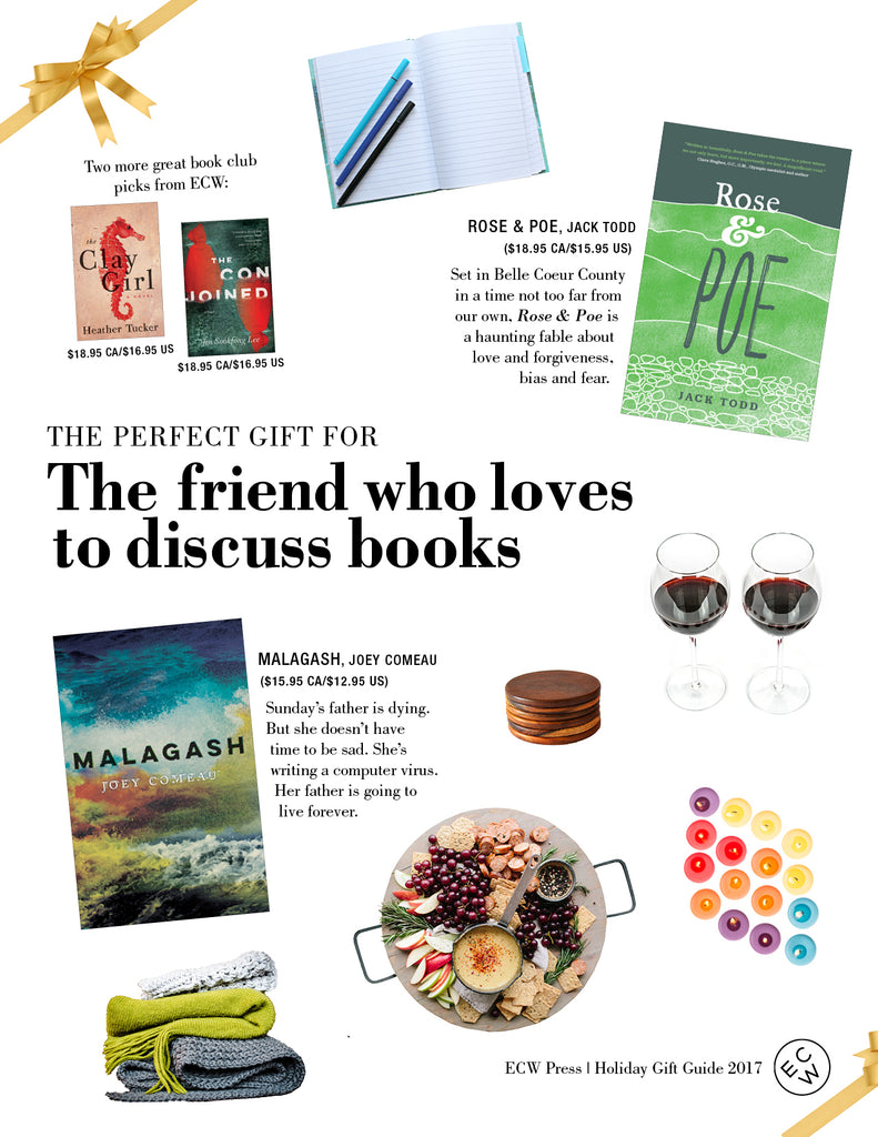 The Perfect Gift for the Friend Who Loves To Discuss Books | ECW Press