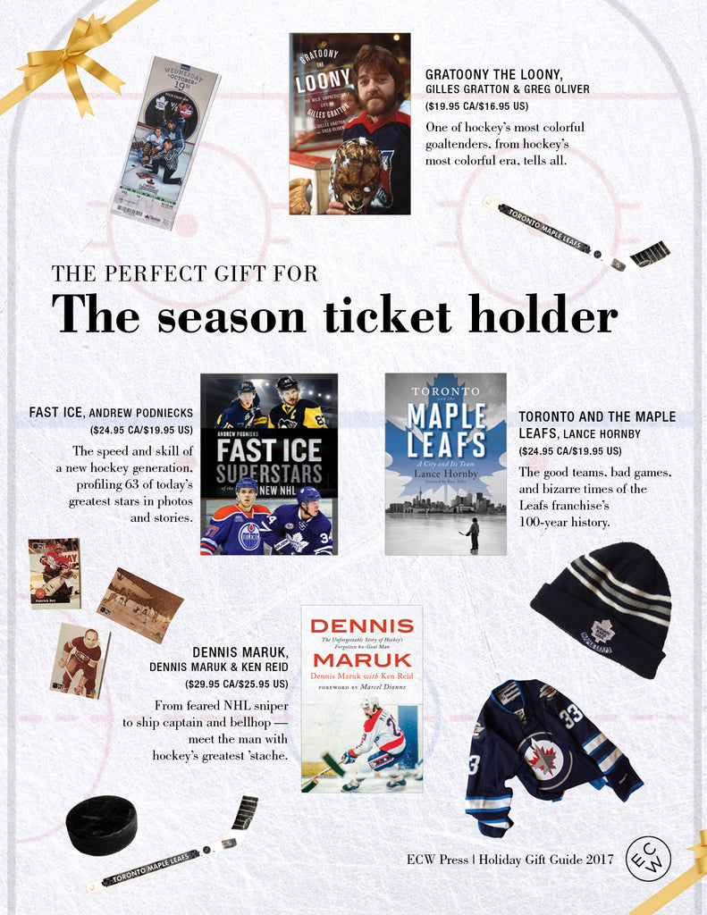 The Perfect Gift for the Season Ticket Holder | ECW Press