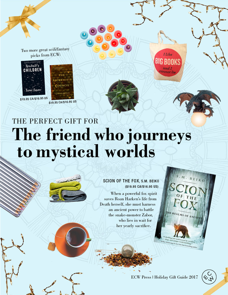 Gift Guide: The Perfect Gift for the Person Who Journeys to Mystical Worlds | ECW Press