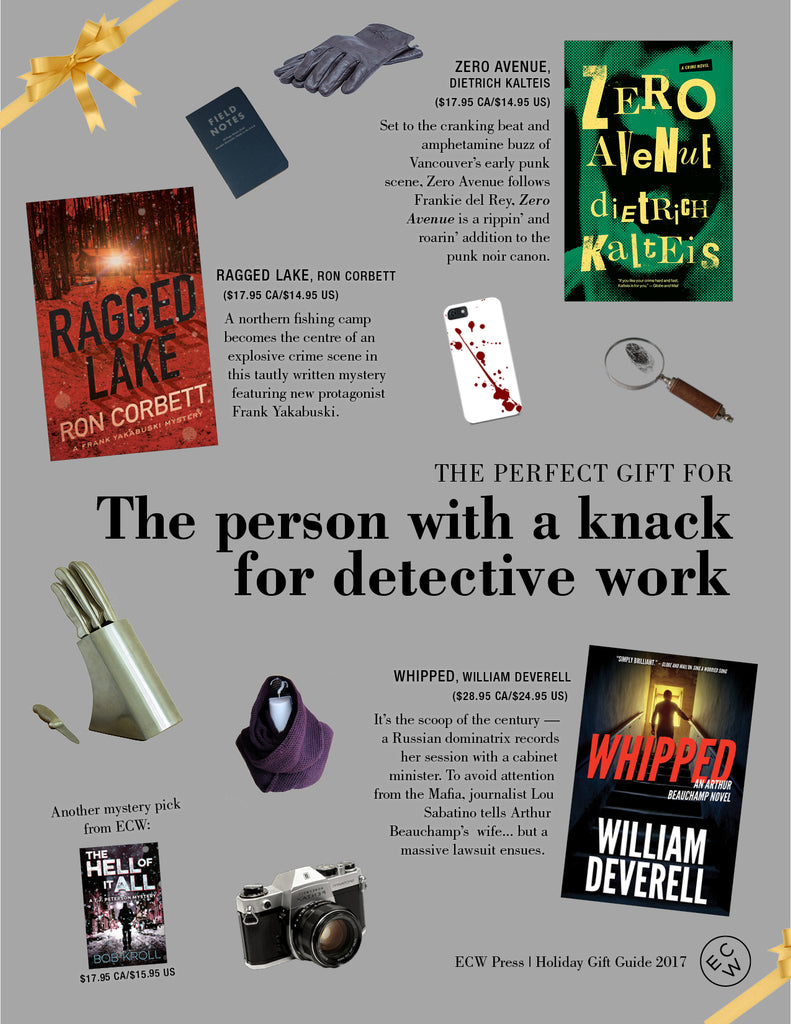 Gift Guide: The person with a knack for detective work | ECW Press