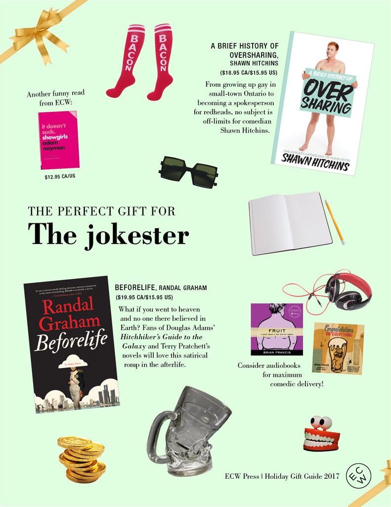 Gift Guide: The Jokester | ECW Press
