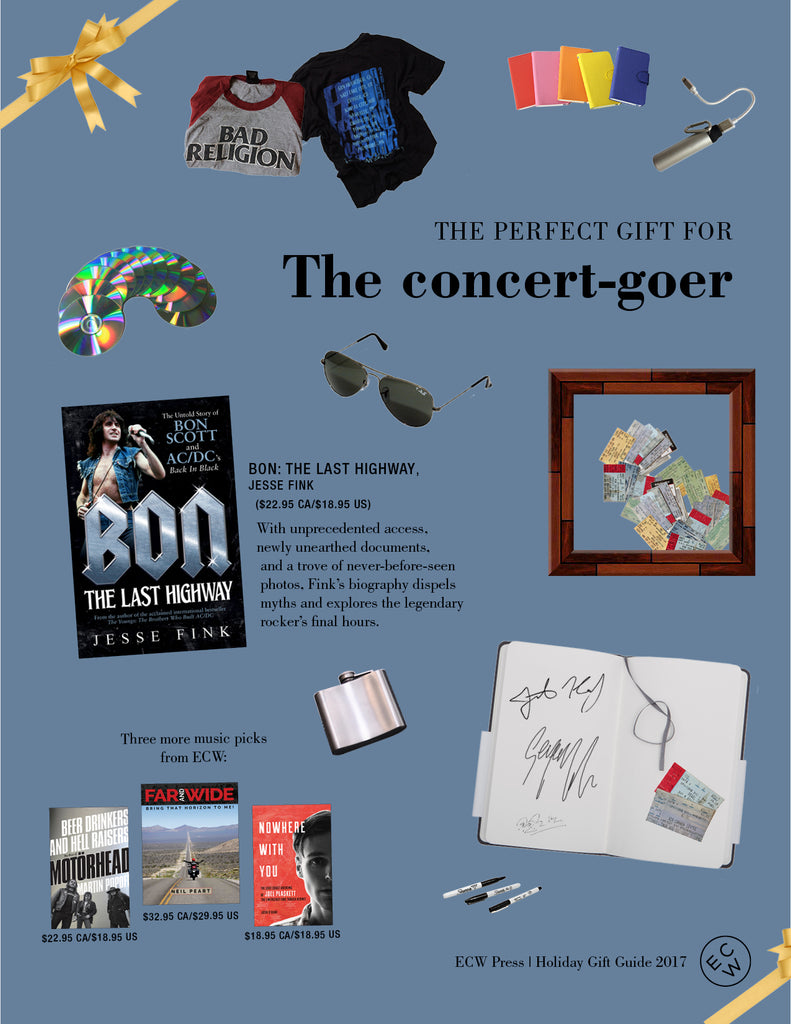 Gift Guide: The Concert-Goer | ECW Press