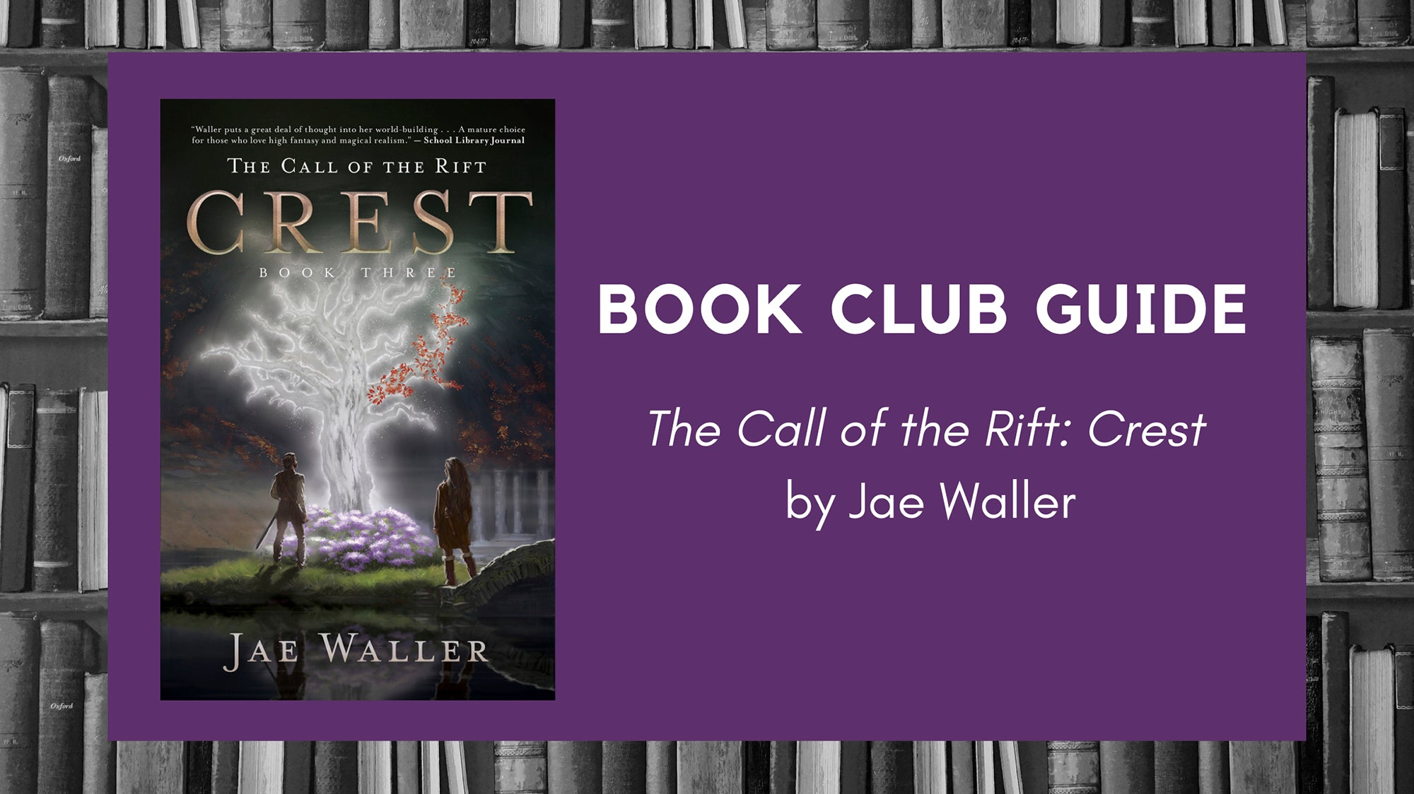 Book Club Guide: The Call of the Rift: Crest by Jae Waller