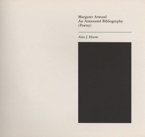 Annotated Bibliography of Margaret Atwood (Poetry) - ECW Press