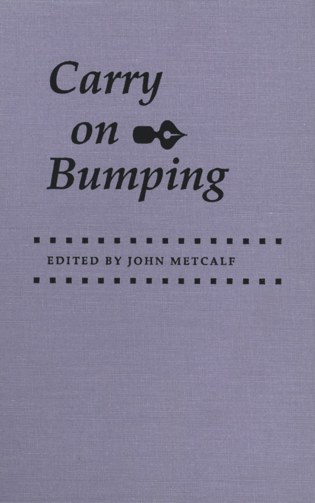 Carry on Bumping - ECW Press  - 1