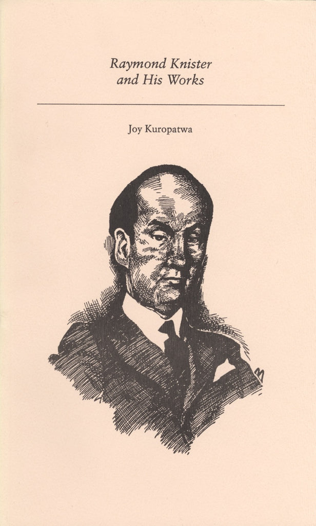 Raymond Knister and His Works - ECW Press