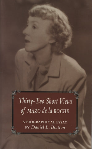 32 Short Views of Mazo de la Roche - ECW Press