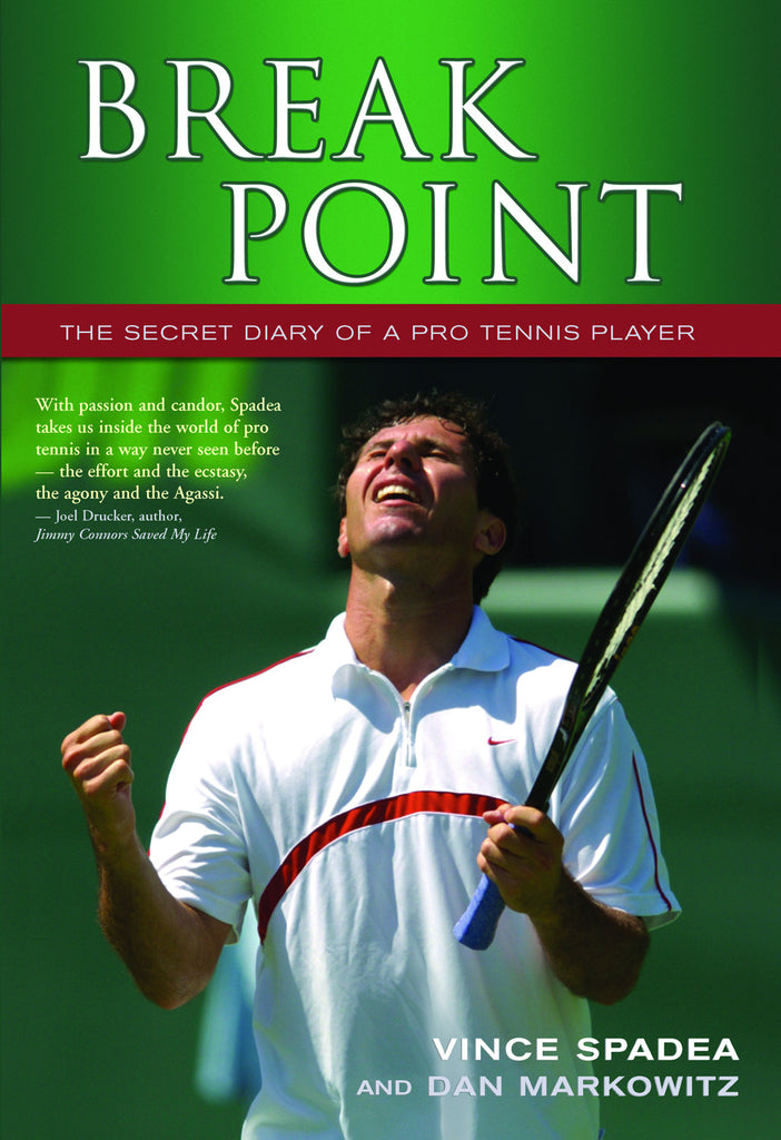 Break Point: The Secret Diary of a Pro Tennis Player - ECW Press