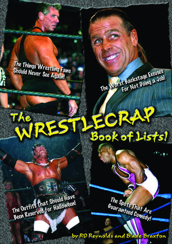 The WrestleCrap Book of Lists! - ECW Press