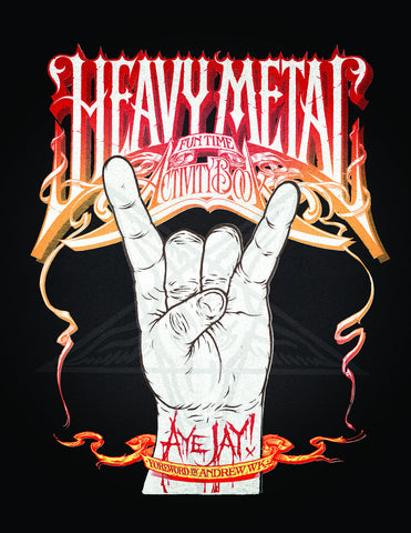 Heavy Metal Fun Time Activity Book - ECW Press
