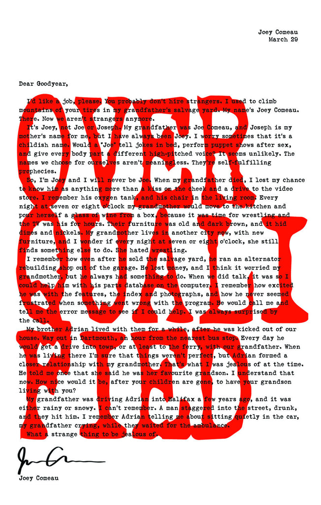 Overqualified - ECW Press