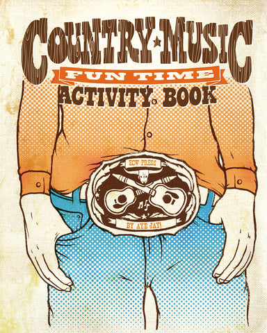 Country Music Fun Time Activity Book - ECW Press