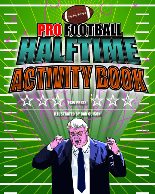 Pro Football Halftime Activity Book - ECW Press