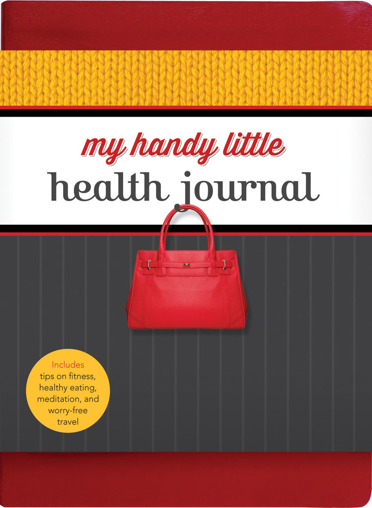 My Handy Little Health Journal: Includes tips on fitness, healthy eating, meditation, and worry-free travel - ECW Press