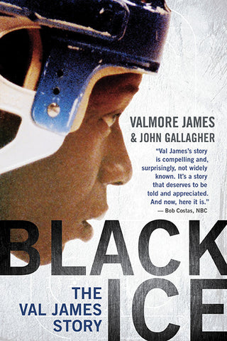 Black Ice by Valmore James and John Gallagher, ECW Press