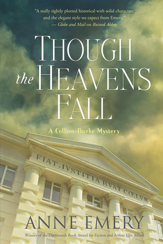 Though the Heavens Fall by Anne Emery, ECW Press