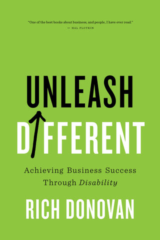 Unleash Different by Rich Donovan, ECW Press