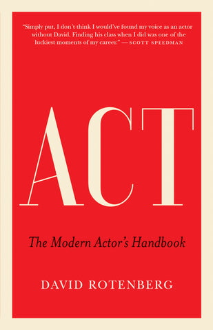Act by David Rotenberg, ECW Press