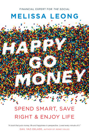 Happy Go Money by Melissa Leong, ECW Press