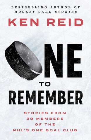 One to Remember by Ken Reid, ECW Press