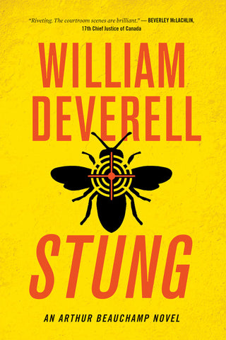 Stung by William Deverell, ECW Press