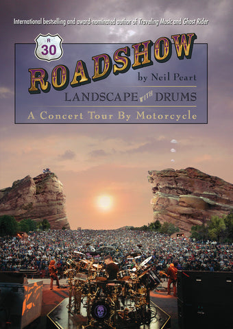 Roadshow: Landscape with Drums: A Concert Tour by Motorcycle - ECW Press  - 1