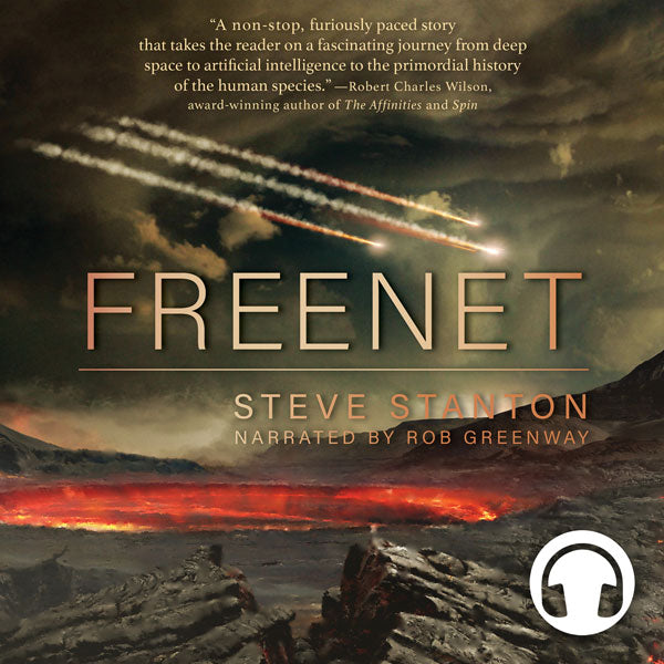 Freenet by Steve Stanton, narrated by Rob Greenway, ECW Press