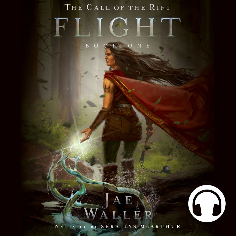 The Call of the Rift: Flight by Jae Waller, narrated by Sera-Lys McArthur, ECW Press