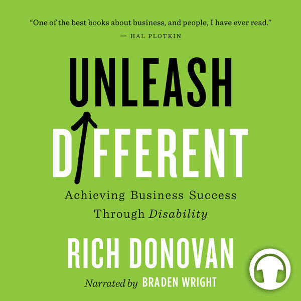 Unleash Different by Rich Donovan, narrated by Braden Wright, ECW Press