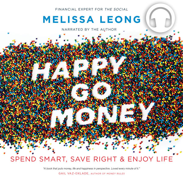 Happy Go Money by Melissa Leong, narrated by the author, ECW Press