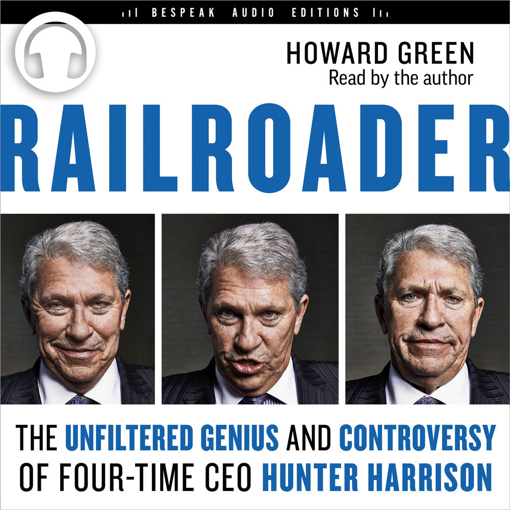 Railroader by Howard Green, read by the author, ECW Press